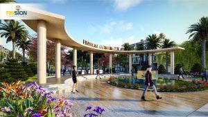 phối cảnh dự án KĐT Finsion Complex City