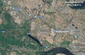 Vị trí dự án khu đô thị và dan cư Thanh Hà Hội An