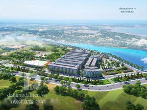 Hình tổng quan dự án Chu Lai Riverside