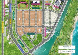 Sơ đồ phân lô dự án Chu Lai Riverside