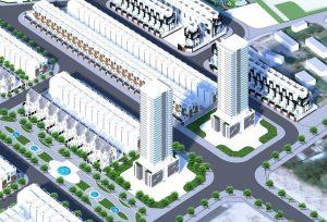 Hình ảnh phối cảnh khu dân cư Hà Quảng