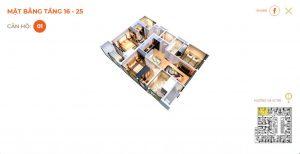 Thiết kế căn hộ The 6Nature Đà Nẵng