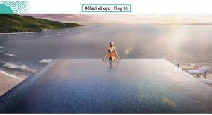 Bể bơi vô cực tại The 6Nature Đà Nẵng